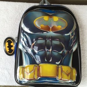 Batman Backpack NWT! Nice